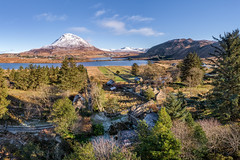 Glentornan Snow 2019 (Gareth Wray - 12 Million Views, Thank You) Tags: bunbeg gweedore dji poisoned glen mt mount mountain errigal dunlewey church foot phantom four 4 pro p4p drone aerial quadcopter landscape landmark tourist attraction tourism tourists historic history visit donegal ireland irish scenic gareth wray photography strabane nikon atlantic day vacation 2018 derrybeg gaeltacht lake lough hill home house thatched cottage ruin abandoned homestead ghost glentornan village hamlet dry stone decay rural traditional lost snow snowing winter christmas grass trees field