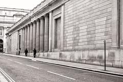 Facade--Bank of England (PAJ880) Tags: bank england london uk city great britain facade sir john soane architecture finance mono bw