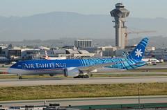 Air Tahiti Nui 787-900 Dreamliner (F-OMUA) - LAX Taxiway H  (2) (hsckcwong) Tags: airtahitinui 787900 7879 787 dreamliner fomua lax klax