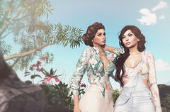 True friends are never apart, maybe in distance but never in heart (AmyBeebe <3) Tags: addams blueberry truth spring sl secondlife virtualworlds