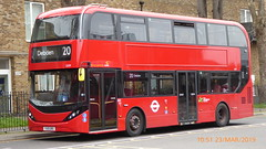 P1150203 2539 YX19 ORO at Walthamstow Central Station Bus Station Walthamstow London (LJ61 GXN (was LK60 HPJ)) Tags: hackneycommunitytransportgroup ctplus alexanderdennistrident2hybrid enviro400hybrid enviro400hhybrid enviro400h enviro400hybridcity enviro400hhybridcity enviro400hcity e400h city 105m 10500 10500mm 2539 yx19oro j4351