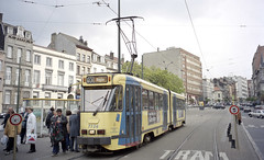 2002-04-18 Brussel Tramway Nr.7726 (beranekp) Tags: belgium brussel tramvaj tramway tram tranvia strassenbahn šalina elektrika električka 7726