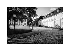 Eutin XIX (Passie13(Ines van Megen-Thijssen)) Tags: deutschland holsteinerschweiz eutin germany street blackandwhite bw sw zw zwartwit monochroom monochrome monochrom fujifilm x100f inesvanmegen inesvanmegenthijssen