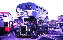 Slide 135-08 (Steve Guess) Tags: addlestone surrey england gb uk lbpt cbm bus coop car park dublin cie leyland titan irish oik984