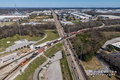 BNSF 7840 | GE ES44DC | BNSF Tennessee Yard (M.J. Scanlon) Tags: bnsf7840 bnsfrailway bnsftennesseeyard business c449w capture cargo commerce dji digital drone engine freight gees44dc horsepower landscape locomotive logistics mjscanlon mjscanlonphotography mavik2 mavik2zoom memphis merchandise mojo move ns9690 norfolksouthern outdoor outdoors photograph photographer picture quadcopter rail railfan railfanning railroad railroader railway scanlon super tennessee track train trains transport transportation wow ©mjscanlon ©mjscanlonphotography ge es44dc