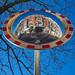 Selfie in Convex Mirror, Amstel, Amsterdam 2016