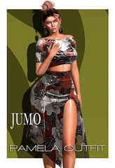 Pamela Outfit AD2b (junemonteiro) Tags: jumo originals mesh maitreya belleza slink gown chic