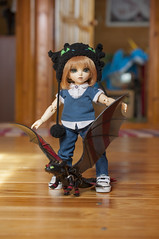 How To Train Your Dragon 06 (Mista-Oro) Tags: toy howtotrainyourdragon dragon dreamworks toothless fairyland ltf littlefee chiwoo bjd doll