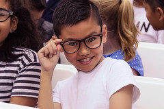 Looking Good (Kevin MG) Tags: kids child childhood school schoolage adolescent adorable glasses performance concert boy schoolboys young youth cute pretty little funny portrait