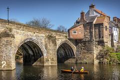 Elvet Bridge, Durham (DM Allan) Tags: river wear elvet bridge durham spring sunshine historic
