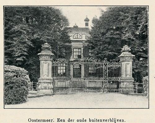 Eigenhaard 1913,   Amsterdam Amstel  oostermeer