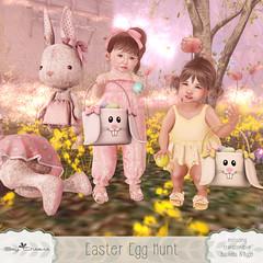 [SC] Easter Egg Hunt (Jany Bluebird) Tags: toddleedoo bebe avatar virtualworld secondlife secondlifepose familypose