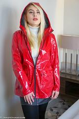 Sexy in vinyl and leather (21 pics) (sexyrainwear_dot_online) Tags: raincoat rainjacket rainwear raingear regntøj regenjacke regenmantel lackmantel lackjacke leder lederrock leather pvc vinyl rainmac