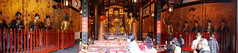 Panoramas in the Old City God Temple: God statues (SpirosK photography) Tags: shanghai china κίνα σανγκάη city urban oldcitygod temple holyplace worship
