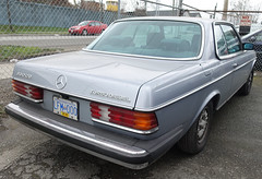 1984 Mercedes-Benz 300CD Turbo Diesel coupe (D70) Tags: 1984 mercedesbenz 300cd turbo diesel coupe mitchellisland richmond britishcolumbia canada