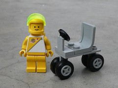 Four on the Fourth (captain_j03) Tags: toy spielzeug 365toyproject lego minifigure minifig moc febrovery space rover car auto