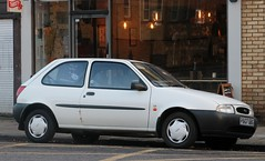 P607 GBG (1) (Nivek.Old.Gold) Tags: 1996 ford fiesta lx 3door 1299cc