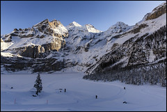 _SG_2019_01_6052_IMG_5809 (_SG_) Tags: schweiz suisse switzerland daytrip tour wandern hike hiking kandersteg lake oeschinen oeschinensee upper station heuberg panorama unterbärgli oberbärgli nature aussicht view unesco world heritage trail mountain berge loop winter ice frozen fishing cold