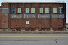 Sheets • Plates • Bars • Coils (gregador) Tags: cleveland americanindustrialproductsco decayed abandoned industry ghostsigns