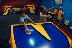 4742 Distractable (mliu92) Tags: belmont pumpitup birthday inflatable party nikkor 1635