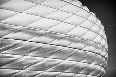 Inside Outside (*Capture the Moment*) Tags: 2019 allianzarena architecture architektur februar february fotowalk munich münchen sonyilce6300 stefan tum
