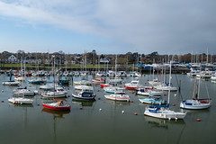 DSC04260 (MartinElwood) Tags: lymington harbour yachts