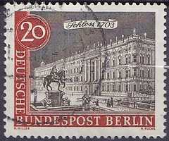 Deutsche Briefmarken (micky the pixel) Tags: briefmarke stamp ephemera deutschland bundespost berlin altberlin gebäude building schloss castle berlinerschloss