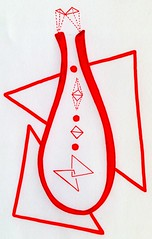 Natalism (Daniel Ari Friedman) Tags: red black color draw pen ink creative art drawing danielarifriedman daniel ari friedman science philosophy chromatic paper artistic geometry topology mathematics cartoon freehand freedraw craft
