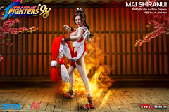 PHICEN PL2019-134 Mai Shiranui 不知火舞 SNK King of Fighters - 10 (Lord Dragon 龍王爺) Tags: 16scale 12inscale onesixthscale actionfigure doll hot toys phicen tbleague seamless