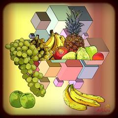 Mix of fruit and blocks (SØS: Thank you for all faves + visits) Tags: blocks colorful digitalartwork art kunstnerisk manipulation solveigøsterøschrøder artistic drawndigitalart fruit paint 100views