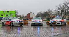 Dutch traffic police lineup (Dutch emergency photos) Tags: