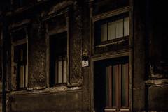 Dark Streets (ffigueiredo17) Tags: street house home door window estonia soviet europe eastern abandoned