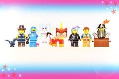 The LEGO Movie 2 (weeLEGOman) Tags: the lego movie 2 minifigure minifigures figbarf fig barf wyldstyle lucy metalbeard unikitty angry general sweet mayhem benny emmet brickowski rex toy toys macro nikon d7100 105mm uk robert rob trevissmith dangervest
