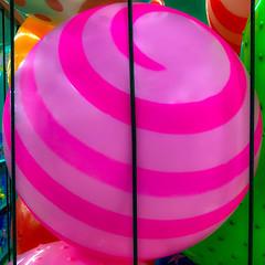 Caged Ball (Timothy Valentine) Tags: 0319 large ball display 2019 squaredcircle shopping abington massachusetts unitedstatesofamerica us