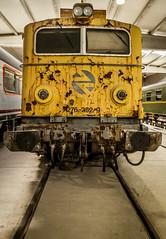 Vieja Locomotora. (Ricardo Pallejá) Tags: tarragona travel tokina1116 turismo textura tren nikon d500 decay óxido old museo abandono antiguo abandoned