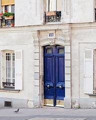 Paris Doors No. 55 (Melanie Alexandra Photography) Tags: paris doors parisapartment france parisstreetphotography
