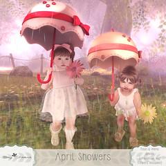 [SC] April Showers (Jany Bluebird) Tags: toddleedoo bebe avatar virtualworld secondlife secondlifepose familypose