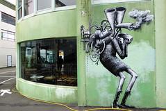 Phlegm street art, Wellington (duncan) Tags: streetart wellington graffiti newzealand phlegm