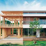木質梁勝ちラーメン構造の写真