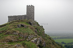 The 13th Century Church of St Michael de Rupe at Brentor on the western edge of Dartmoor. (Andrew Bradford Images) Tags: church dartmoor 13thcenturychurch stmichaelderupe brentor