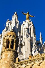 Barcelone-093 (bonacherajf) Tags: barcelona barcelone catalogne catalunya espagne spagna christ church tibidabo ã©glise espania église
