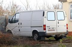 P453 PVW (Nivek.Old.Gold) Tags: 1997 ford transit 80 swb van 2496cc diesel gates