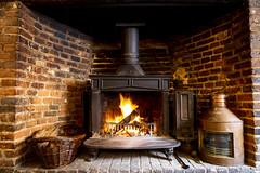 Roaring fires at The Cross Keys Aldeburgh (Adnams) Tags: thecrosskeysaldeburgh crosskeys aldeburgh suffolk pub adnams