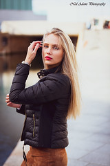 water front shoot (Neil Adams Photography (Wirral)) Tags: young stunning model female girl woman sensual beautiful blonde outdoor outdoors location