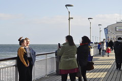 say cheese 1 (auroradawn61) Tags: bournemouth dorset uk england march 2019 breezy tamron nikon bournemouthpier people candid