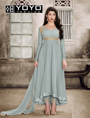 Grey-Salwar-Suit-Online-YOYOFashion (yoyo_fashion) Tags: dresses offers salwarsuitt greysuit shopping womenweardress fashion style fauxgeorgettesalwarsuit
