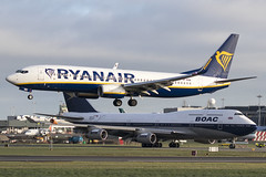 SP-RSB | Ryanair Sun | Boeing B737-8AS(WL) | CN 44832 | Built 2018 | DUB/EIDW 18/02/2019 | ex EI-GJV (Mick Planespotter) Tags: aircraft airport 2019 dublinairport collinstown nik sharpenerpro3 sprsb ryanair sun boeing b7378aswl 44832 2018 dub eidw 18022019 eigjv b737 flight ryanairsun