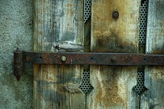 Here's A HInge (Dan Daniels) Tags: windows shutters nikon audand basel cantonbaselstadt kantonbaselstadt switzerland schweiz textures wood metalobjects