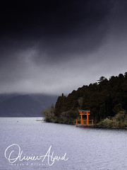 Japan19Ak_IO_0797-1 (oalard) Tags: japan japon canon 1dmkiv akone temple tori paysage nuage cloud