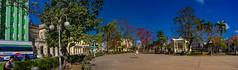 The Panoramas - View of Vidal Park (lezumbalaberenjena) Tags: panorama panoramic villas villa clara cuba 2019 lezumbalaberenjena